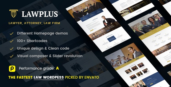 Law WordPress Theme | LawPlus - Business Corporate