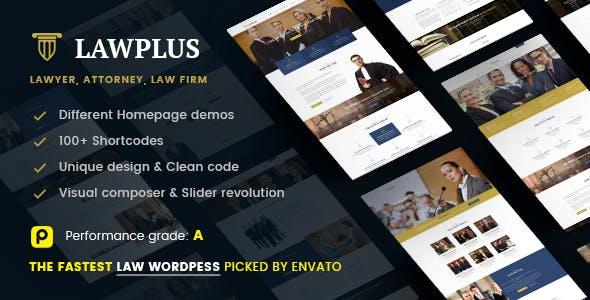 Law WordPress Theme | LawPlus