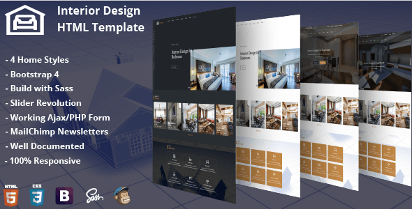 Interior Design Template - Business Corporate