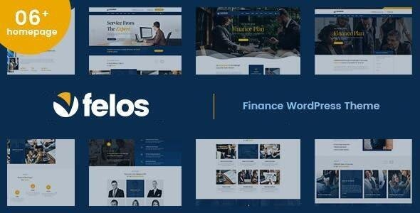 Felos - Finance WordPress Theme - Business Corporate