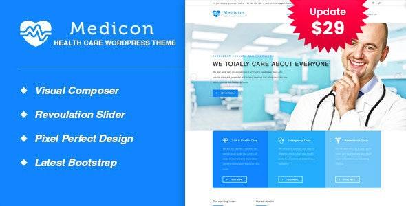 Medicon - Health and Medical WordPress Theme - Health & Beauty Retail