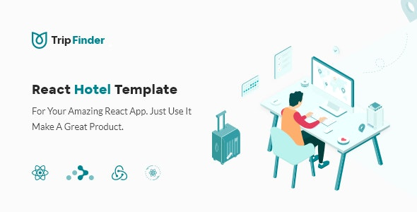 TripFinder - React Hotel Listing Template - Site Templates
