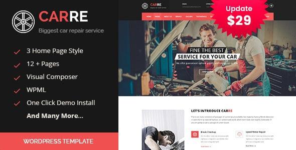 Car RE - Auto Mechanic & Car Repair WordPress Theme - Business Corporate