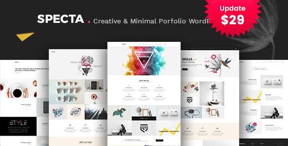 Specta - Multipurpose Portfolio WordPress Theme - Portfolio Creative
