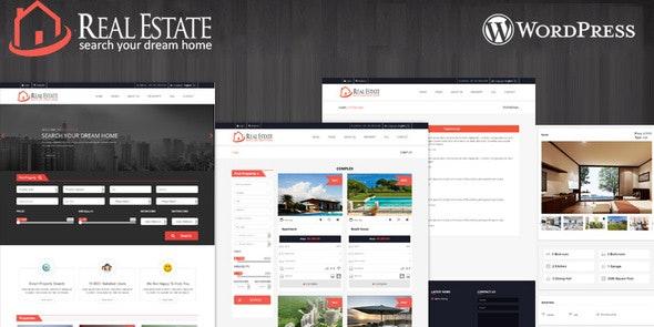 Real Estate Wordpress Theme - Real Estate WordPress