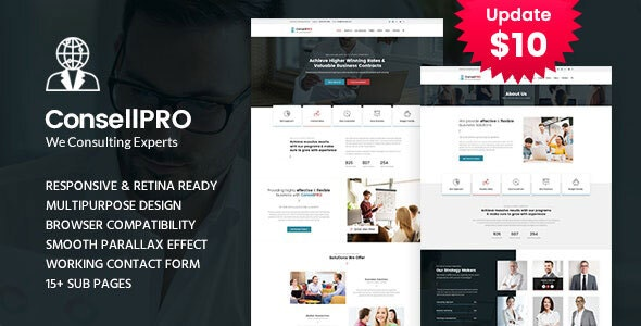 Concell pro - Business Consulting Services HTML Template - Business Corporate