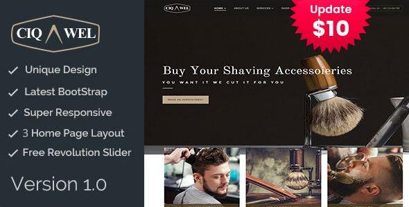 Cigawel - HTML Salon Template - Health & Beauty Retail