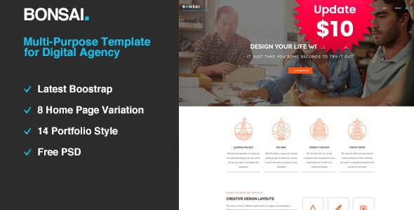 Bonsai   Multi-purpose HTML5 Template for Digital Agency - Portfolio Creative