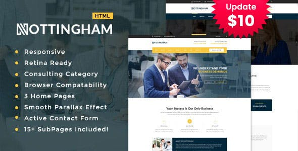 Nothingham - Finance and Consultancy Template