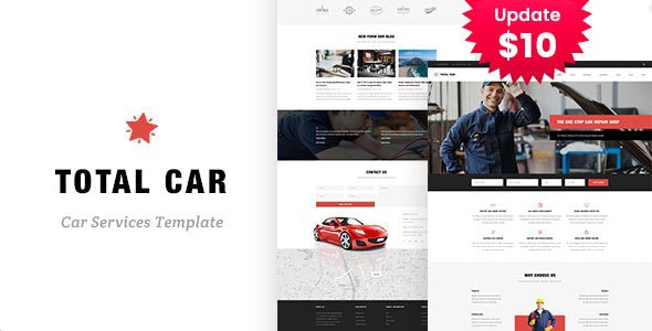 Total Car - Auto Mechanic & Car Repair Template - Business Corporate
