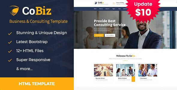 Cobiz - Consulting & Business HTML Template - Business Corporate