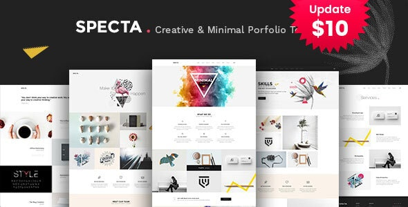 Specta - A Colorful and Modern Multipurpose  Portfolio Template - Portfolio Creative