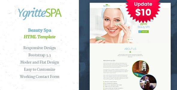Ygritee Spa- Beauty Salon HTML Template