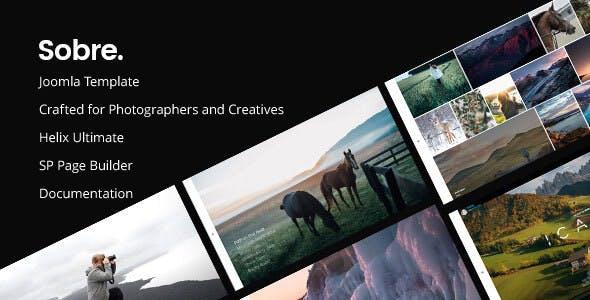 Sobre | Minimal Photography Portfolio Joomla Template