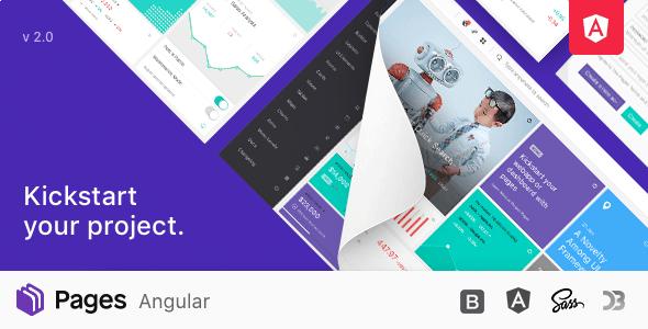 Pages - Angular Admin Dashboard