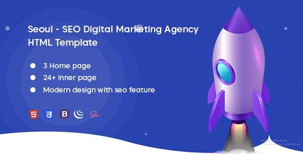 Seoul - SEO Digital Marketing Agency Template