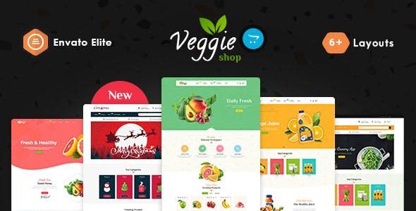 Veggie - OpenCart Multi-Purpose Responsive Theme