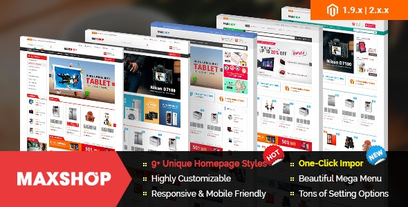 Maxshop - Premium Magento 2 and 1.9 Store Theme by magentech | ThemeForest