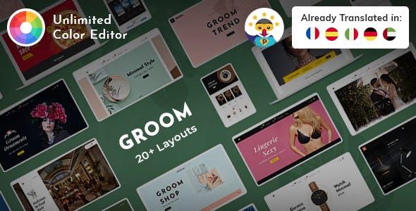 Groom - Prestashop Multi-Purpose Responsive Theme
