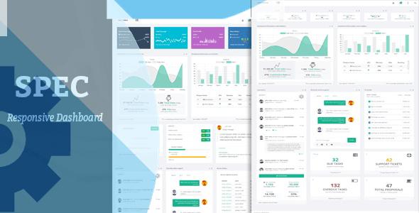Spec - Responsive Bootstrap Dashboard - Admin Templates Site Templates