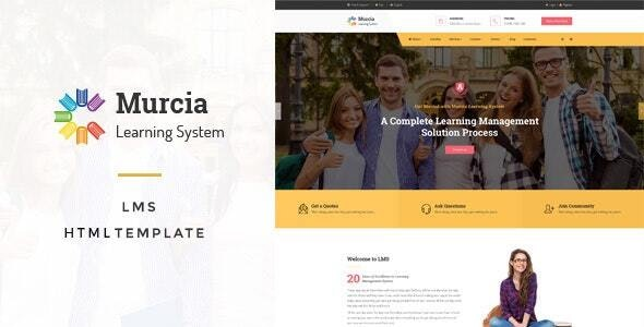 Murcia - Education HTML5 Template - Business Corporate