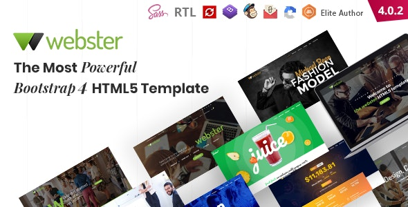 Webster - Responsive Multi-purpose HTML5 Template - Business Corporate