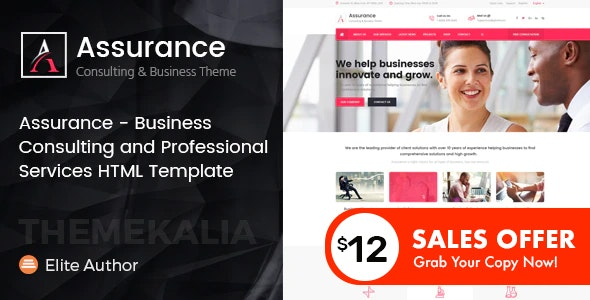 Assurance - Business Consulting Services HTML Template - Business Corporate