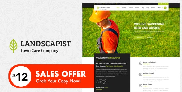 Landscapist - Lawn & Landscaping HTML Template - Business Corporate