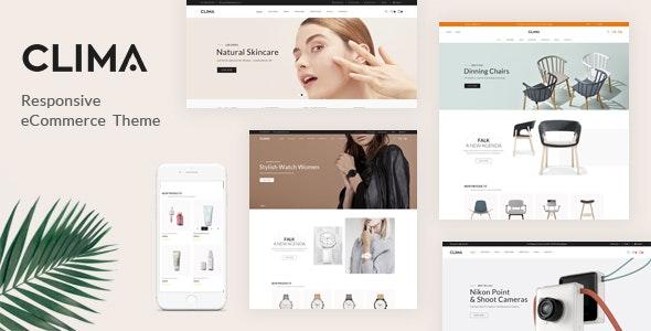 Clima - Multipurpose Prestashop 1.7 Responsive Theme - Fashion PrestaShop