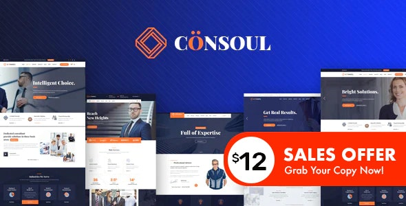 Consoul - Consulting HTML Template - Business Corporate