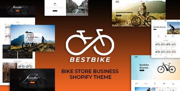 Bestbike - Bike Store Business Shopify Theme - Shopify eCommerce