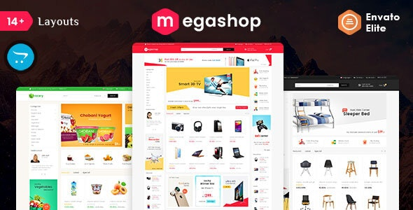 Mega Shop - Opencart 3 Multi-Purpose Responsive Theme - Shopping OpenCart