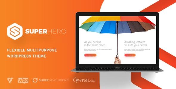 Superhero — Creative Multi-Purpose WordPress Theme - Creative WordPress