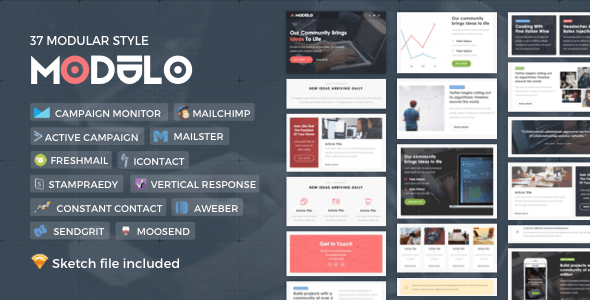 Modulo | Responsive Email - Newsletters Email Templates