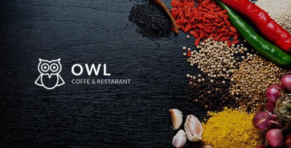 OWL - Cafe & Restaurant Drupal 8.8 Theme - Restaurants & Cafes Entertainment