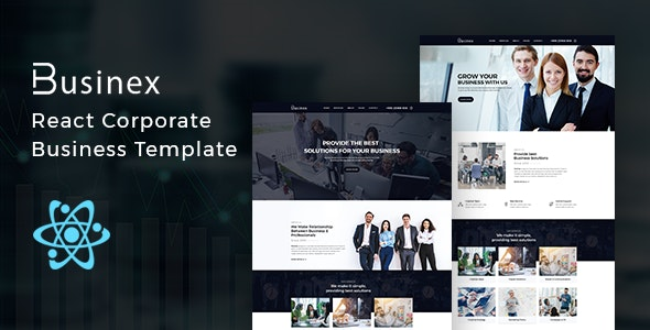 Businex - React Corporate Business Template - Business Corporate