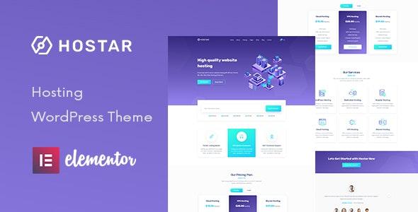 Hostar - Web Hosting WordPress Theme - Hosting Technology