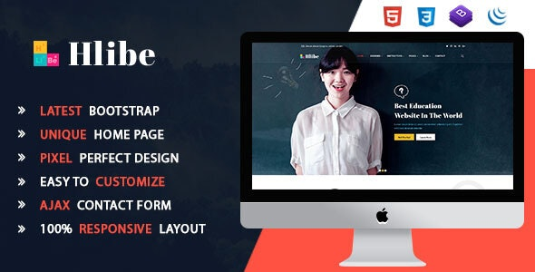Hlibe || Education HTML5 Template - Corporate Site Templates