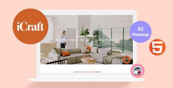 Leo Icraft - Prestashop Furniture Theme for Interior