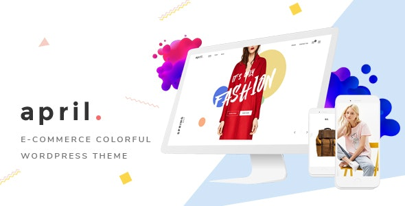 APRIL Fashion WooCommerce WordPress Theme