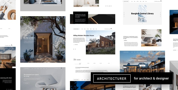 Architecturer WordPress for Interior Designer - Portfolio Creative