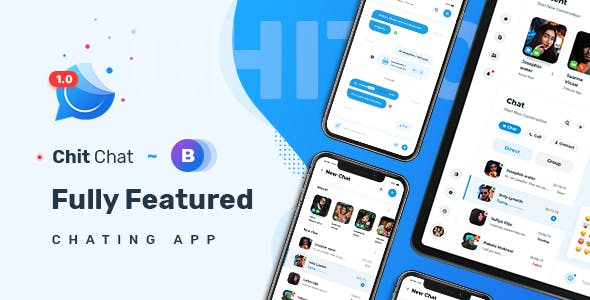 Chitchat - Perfect Chat and Discussion Bootstrap 4 & 5 HTML Template