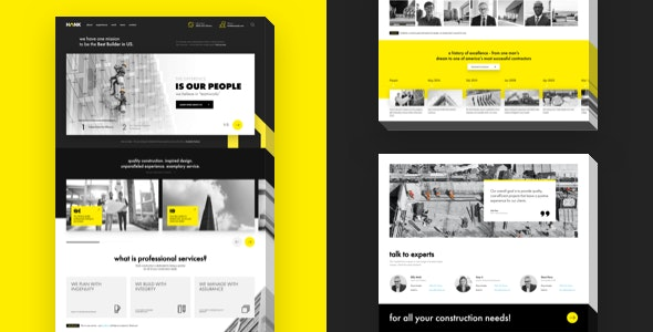 Hank - Construction WordPress theme - Business Corporate