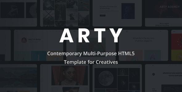 Arty - Creative Multi-Purpose HTML5 Template - Portfolio Creative