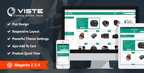 SM Viste - Responsive Multi-Purpose Magento 2 and 1 Theme - Technology Magento