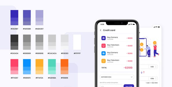 AiriBank - Finance Mobile App UI KIT