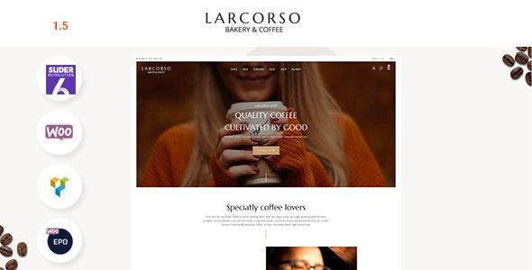 Larcorso Theme Preview
