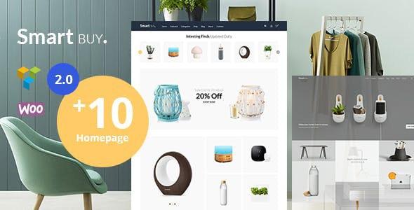 Smartbuy - Shop WooCommerce WordPress  For Digital and Garden Home Theme - WooCommerce eCommerce