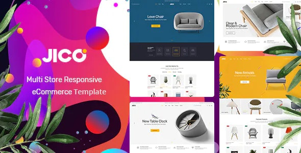 Jico – Modern Furniture eCommerce HTML Template - Shopping Retail