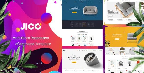 Jico – Modern Furniture eCommerce HTML Template